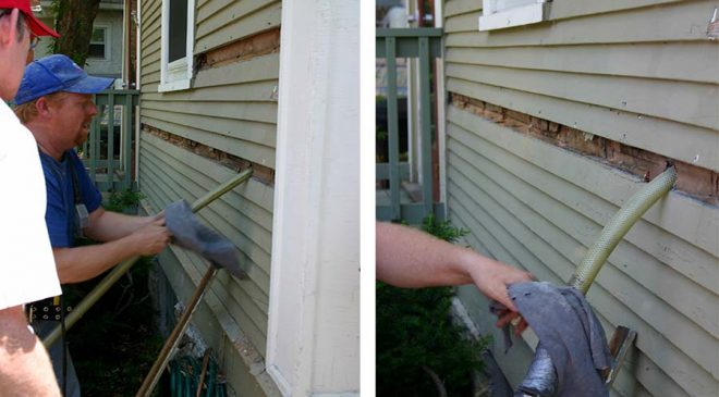 How to Retrofit In-Wall Insulation